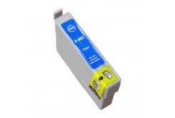 Epson T0802 azúrová (cyan) kompatibilná cartridge
