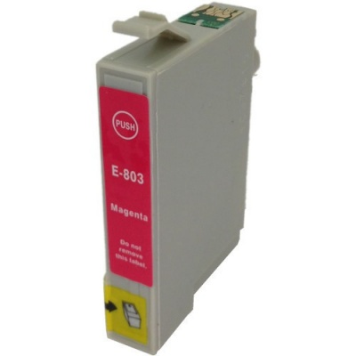 Epson T0803 purpurová (magenta) kompatibilná cartridge