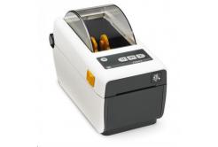 Zebra ZD410 ZD41H22-D0EE00EZ tlačiareň etikiet, 8 dots/mm (203 dpi), MS, RTC, EPLII, ZPLII, USB, BT (BLE), Ethernet, bílá