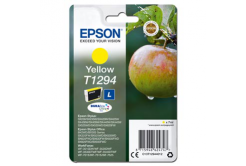 Epson originálna cartridge C13T12944012, T1294, yellow, 485 str., 7ml, Epson Stylus SX420W, 425W, Stylus Office BX305F, 320FW