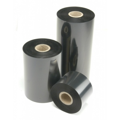 TTR páska standard vosková (wax) 25mm x 300m IN čierna