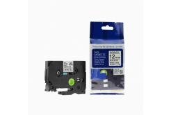 Kompatibilná páska s Brother TZ-FX231/TZe-FX231, 12mm x 8m, flexi, čierna tlač/biely podklad