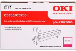 OKI 43870006 purpurový (magenta) originálna valcová jednotka