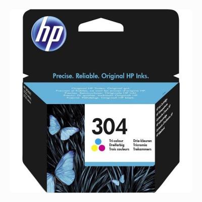HP 304 N9K05AE barevná (color) originálna cartridge