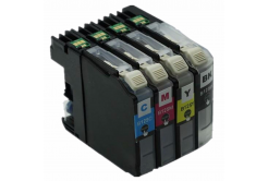 Brother LC-125XL/LC-127XL multipack kompatibilní cartridge