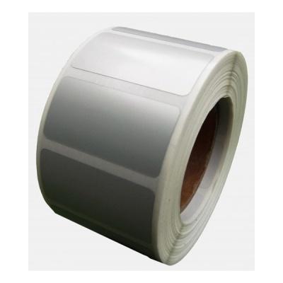 Samolepicí PP (polypropylen) etikety, 50x40mm, 1000ks, pro TTR, stříbrné, role