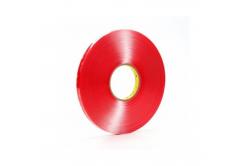 3M VHB 4910-F Oboustranně lepicí akrylová páska, čirá, tl. 1 mm, 9 mm x 3 m