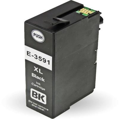 Epson 35XL T3591 čierna (black) kompatibilna cartridge