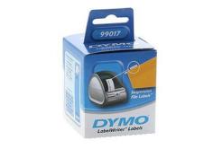 Dymo 99017, S0722460, 50mm x 12mm, bílé, 220 ks, papírové štítky na závěsné pořadače,