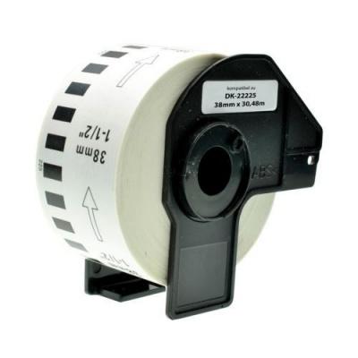 Brother DK-22225, 38mm x 30,48m, kompatibilná role etikiet