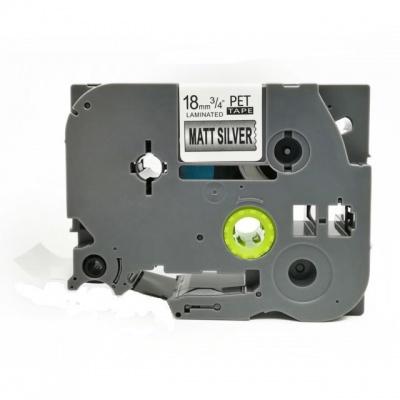 Kompatibilná páska s Brother TZ-M941 / TZe-M941, 18mm x 8m, čierna tlač / strieborný podklad