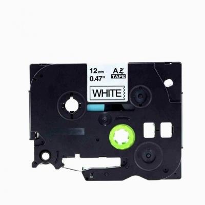 Brother TZe-V231, 12mm x 5,5m, černý tisk / bílý podklad, vinyl, kompatibilní páska