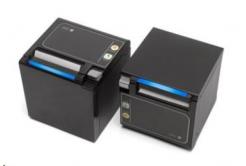 Seiko pokladní tiskárna RP-D10, řezačka, Horní/Přední výstup, BT, čierna, zdroj