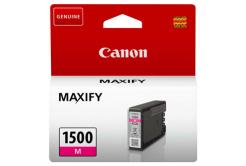 Canon originálna cartridge PGI-1500 M, magenta, 300 str., 4.5ml, 9230B001, Canon MAXIFY MB2050,MB2150,MB2155,MB2350,MB2750,MB2755