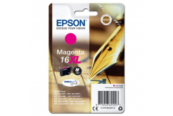 Epson originálna cartridge C13T16334012, T163340, 16XL, magenta, 6.5ml, Epson WorkForce WF-2540WF, WF-2530WF, WF-2520NF, WF-2010