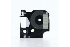 Kompatibilná páska s Dymo 45810, 19mm x 7m, biela tlač / priehľadný podklad
