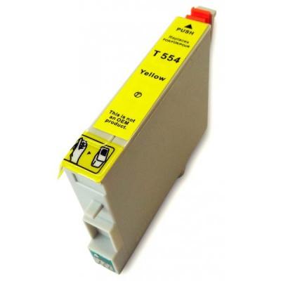 Epson T0554 žltá (yellow) kompatibilna cartridge