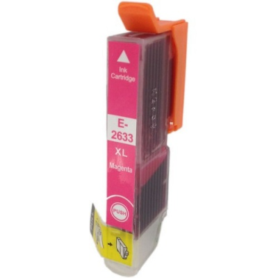 Epson T2633 XL purpurová (magenta) kompatibilná cartridge
