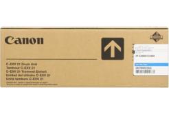 Canon C-EXV21 azúrová (cyan) originálna valcová jednotka