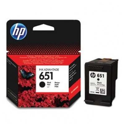 HP 651 C2P10AE čierna (black) originálna cartridge