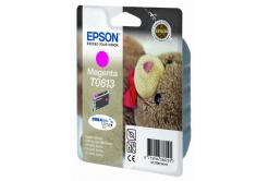 Epson T0613 purpurová (magenta) originálna cartridge