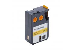 Kompatibilná páska s Dymo 1868772, 19mm x 7m, čierna tlač/žltý podklad