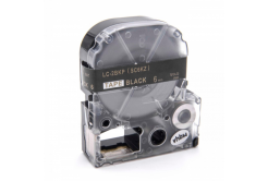 Epson LC-SC6KZ, 6mm x 8m, zlatý tisk / černý podklad, kompatibilní páska