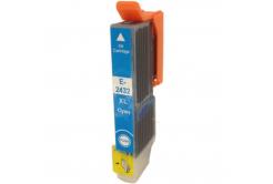Epson T2432 XL azúrová (cyan) kompatibilná cartridge