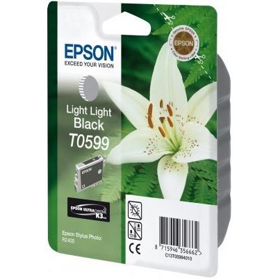 Epson T059940 svetle čierna (light black) originálna cartridge