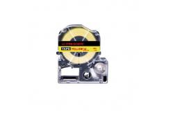 Epson LC-SC36YR, 36mm x 8m, červený tisk / žlutý podklad, kompatibilní páska