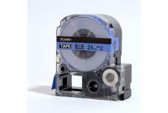 Epson LC-SC24BW, 24mm x 8m, černý tisk / modrý podklad, kompatibilní páska
