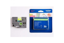 Páska do tiskárny štítků, Brother, TZE-MQG35, biela tlač/zelený podklad, 12mmmm