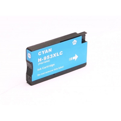 HP 953XL F6U16AE azúrova (cyan) kompatibilna cartridge