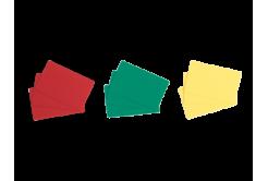 Evolis C4101 500ks CR80 PVC karty, žluté