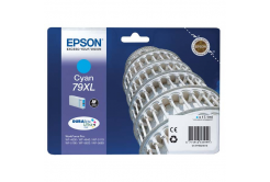 Epson originálna cartridge C13T79024010, 79XL, XL, cyan, 2000 str., 17ml, 1ks, Epson WorkForce Pro WF-5620DWF, WF-5110DW, WF-5690DWF