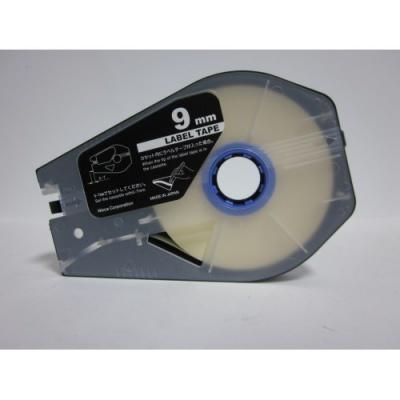 Kompatibilná samolepiaca páska pre Canon M-1 Std/M-1 Pro / Partex, 9mm x 30m, kazeta, biela