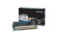 Lexmark X748H1CG azúrový (cyan) originálny toner