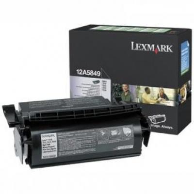 Lexmark 12A5849 čierný (black) originálny toner