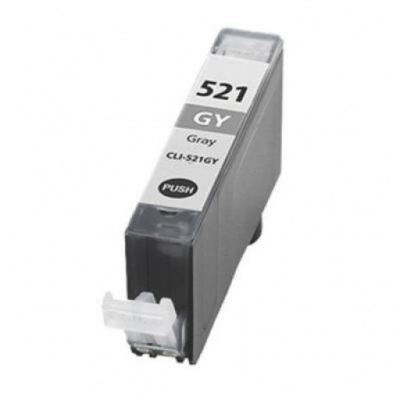 Canon CLI-521Gy sivá (grey) kompatibilna cartridge