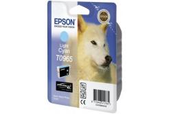 Epson T09654010 světle azurová (light cyan) originální cartridge, prošlá expirace