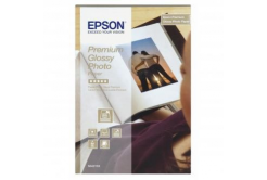 Epson Premium Glossy Photo Paper, foto papír, lesklý, bílý, Stylus Color, Photo, Pro, 10x15cm,