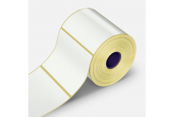 Samolepiace etikety 28x10 mm, 2000 ks, papierové pre TTR, role
