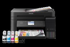Epson tiskárna ink EcoTank L6170, 3v1, A4, 33ppm, Ethernet, Wi-Fi (Direct), Duplex, LCD, ADF, 3 roky záruka po reg.