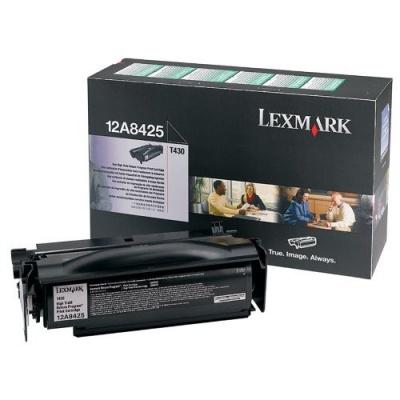 Lexmark 12A8425 čierný (black) originálny toner
