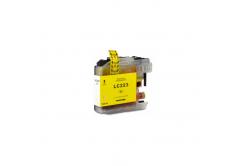 Brother LC-223XL žlutá (yellow) kompatibilní cartridge