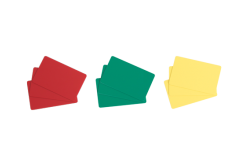 Evolis C4401 500ks CR80 PVC karty, zelené