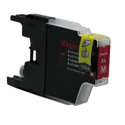 Brother LC-1240 / LC-1280 purpurová (magenta) kompatibilná cartridge