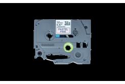 Brother TZ-MQE31 / TZE-MQE31, 12mm x 4m, čierna tlač / ružový podklad, originálna páska