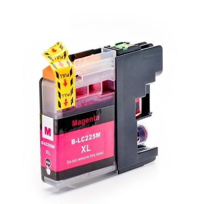Brother LC-225XL purpurová (magenta) kompatibilna cartridge