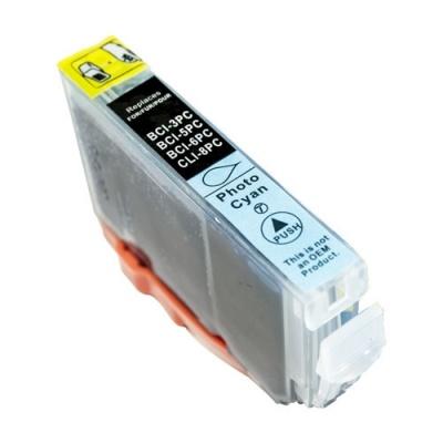 Canon BCI-6PC foto azúrová (photo cyan) kompatibilná cartridge